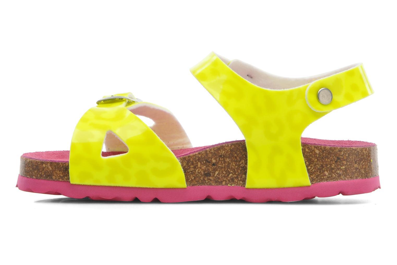 Sandales et nu-pieds Agatha Ruiz de la Prada Dominica Jaune vue face