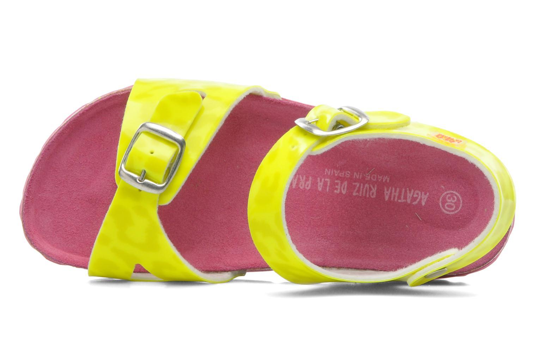 Sandalen Agatha Ruiz de la Prada Dominica gelb ansicht von links