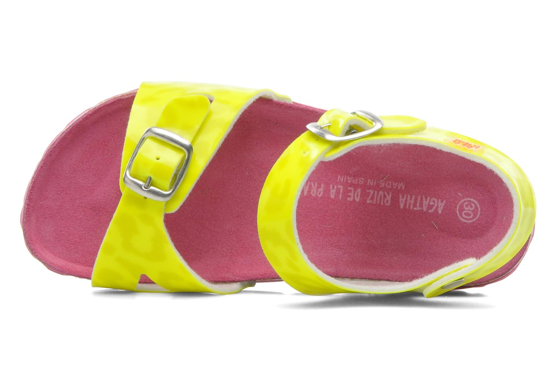 Sandales et nu-pieds Agatha Ruiz de la Prada Dominica Jaune vue gauche