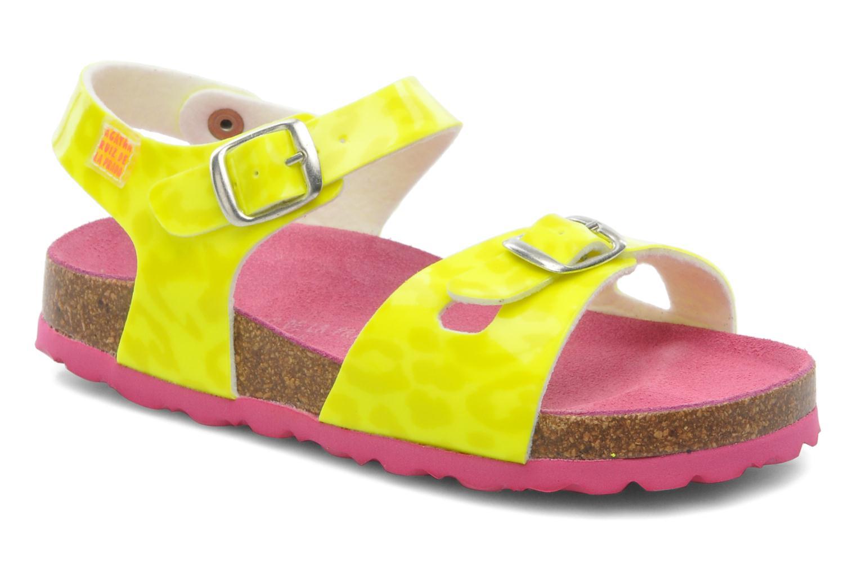Sandales et nu-pieds Agatha Ruiz de la Prada Dominica Jaune vue détail/paire