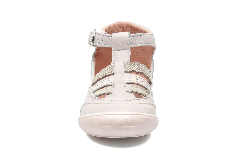 Sandales et nu-pieds Aster MELODINE Gris vue portées chaussures