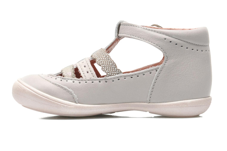 Sandales et nu-pieds Aster MELODINE Gris vue face