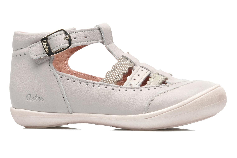 Sandales et nu-pieds Aster MELODINE Gris vue derrière