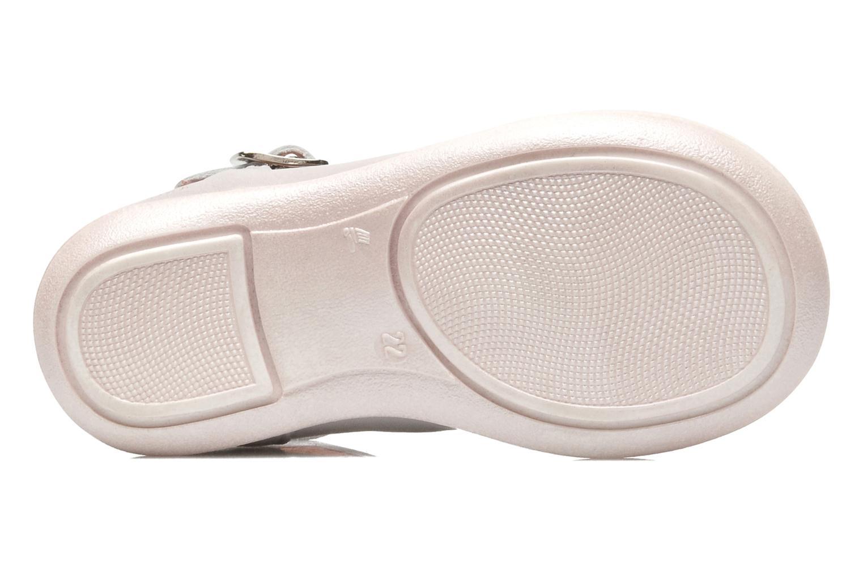 Sandales et nu-pieds Aster MELODINE Gris vue haut