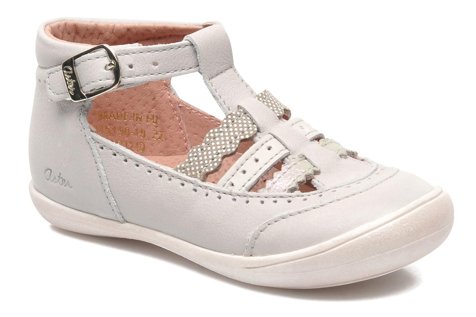 Sandals Aster MELODINE Grey detailed view/ Pair view