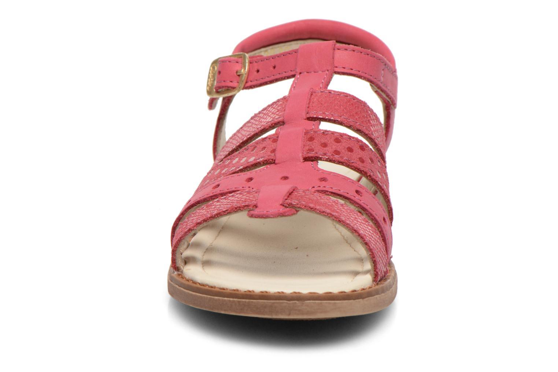 Sandales et nu-pieds Aster TALITA Rose vue portées chaussures