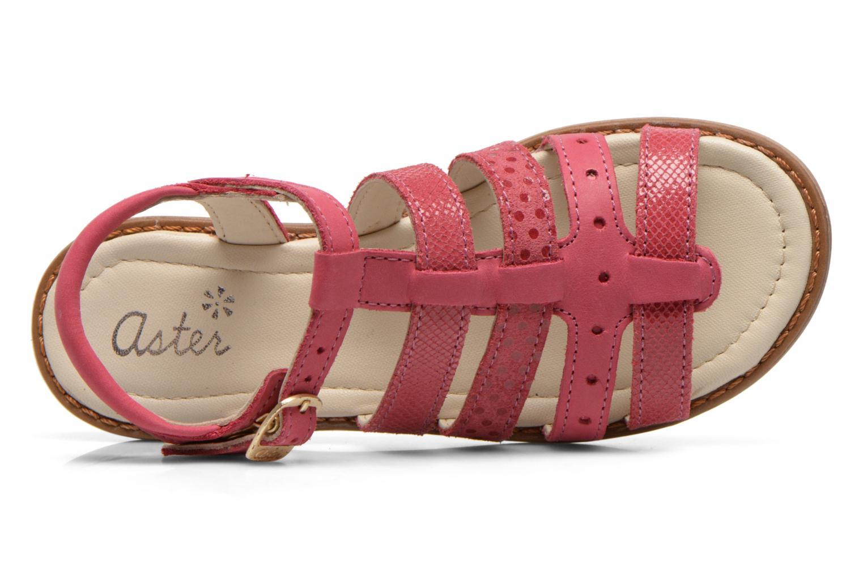Sandales et nu-pieds Aster TALITA Rose vue gauche