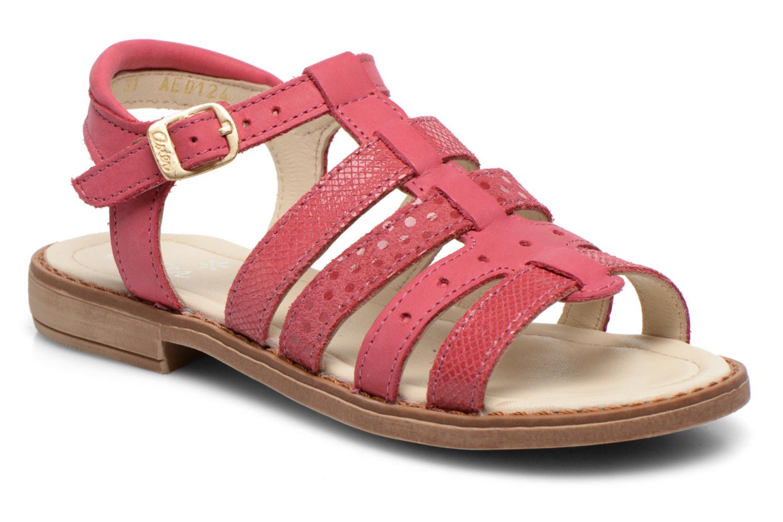 Sandales et nu-pieds Aster TALITA Rose vue détail/paire