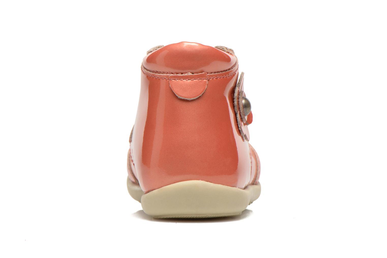 Bottines et boots Mod8 LILA Orange vue droite