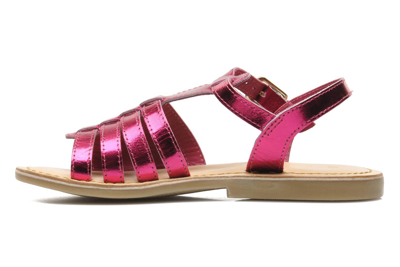 Sandales et nu-pieds Mod8 ZAN Rose vue face