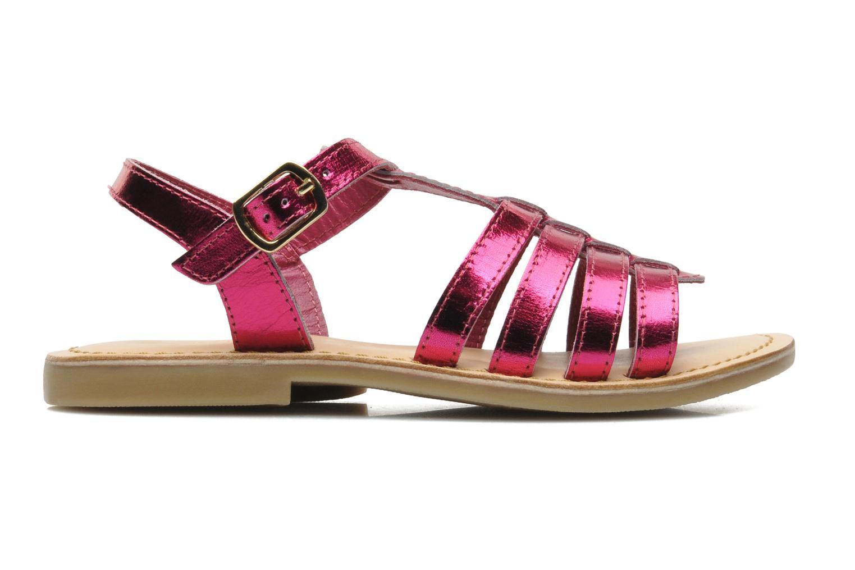 Sandales et nu-pieds Mod8 ZAN Rose vue derrière
