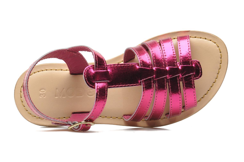Sandales et nu-pieds Mod8 ZAN Rose vue gauche