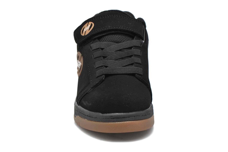 Baskets Heelys Dual Up Noir vue portées chaussures