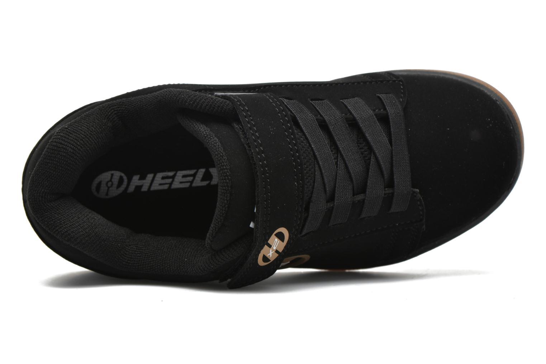 Baskets Heelys Dual Up Noir vue gauche
