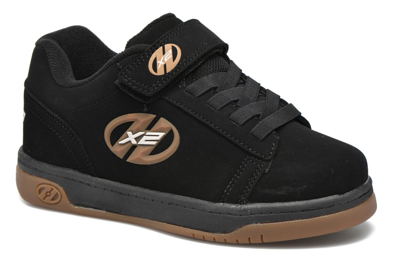 Baskets Heelys Dual Up Noir vue détail/paire
