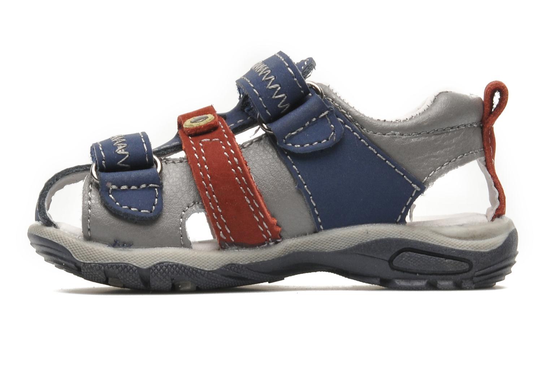 Sandales et nu-pieds Bopy COLD Gris vue face