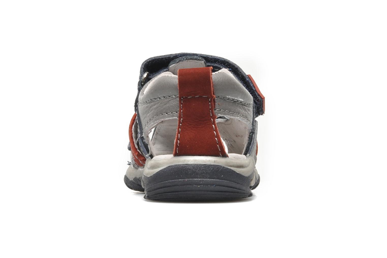 Sandales et nu-pieds Bopy COLD Gris vue droite