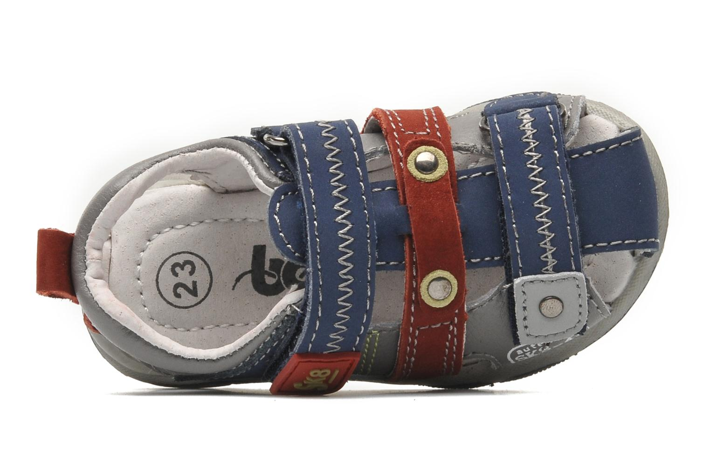 Sandales et nu-pieds Bopy COLD Gris vue gauche