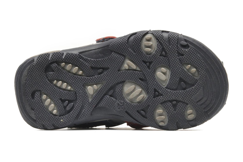 Sandalen Bopy COLD grau ansicht von oben