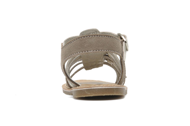 Sandali e scarpe aperte Bopy HIBOCUS Beige immagine destra
