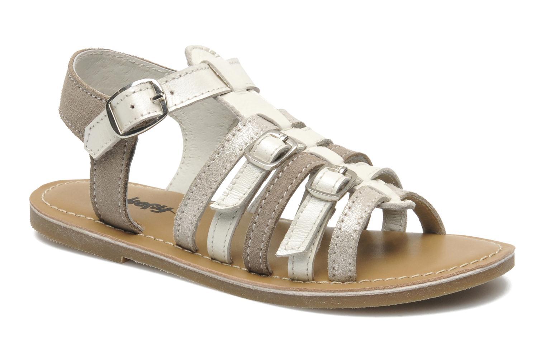 Sandaler Bopy HIBOCUS Beige detaljeret billede af skoene