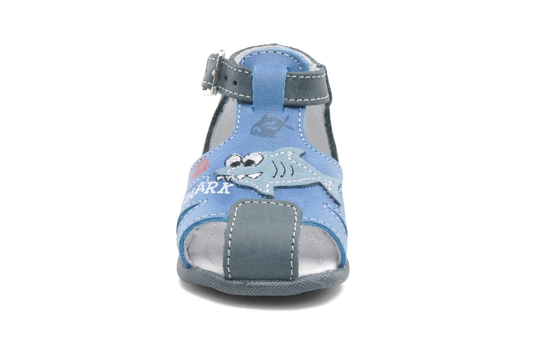 Sandals Bopy ZAQUA Blue model view