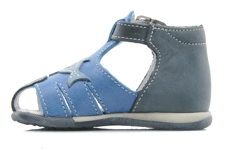 Sandals Bopy ZAQUA Blue front view