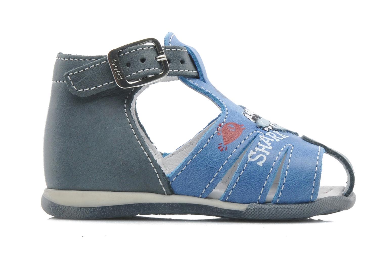 Sandals Bopy ZAQUA Blue back view