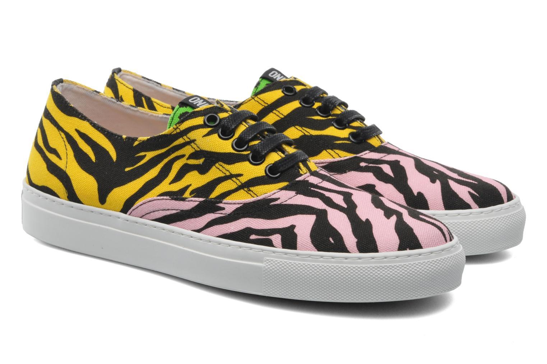 Sneakers Moschino Cheap & Chic Animalier 2 Multi 3/4 billede