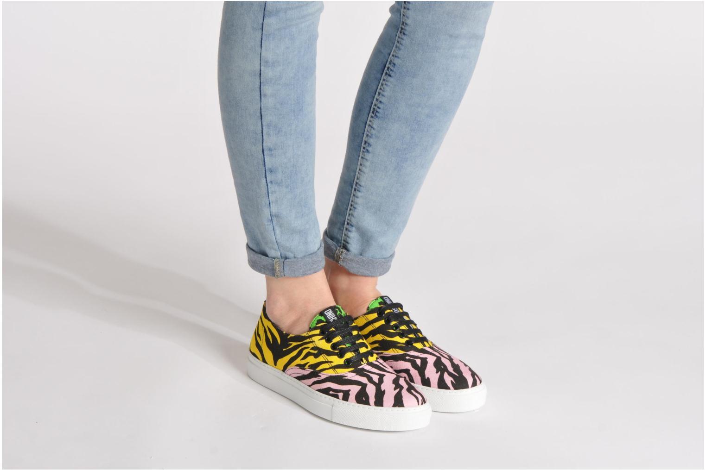 Sneakers Moschino Cheap & Chic Animalier 2 Multi se forneden