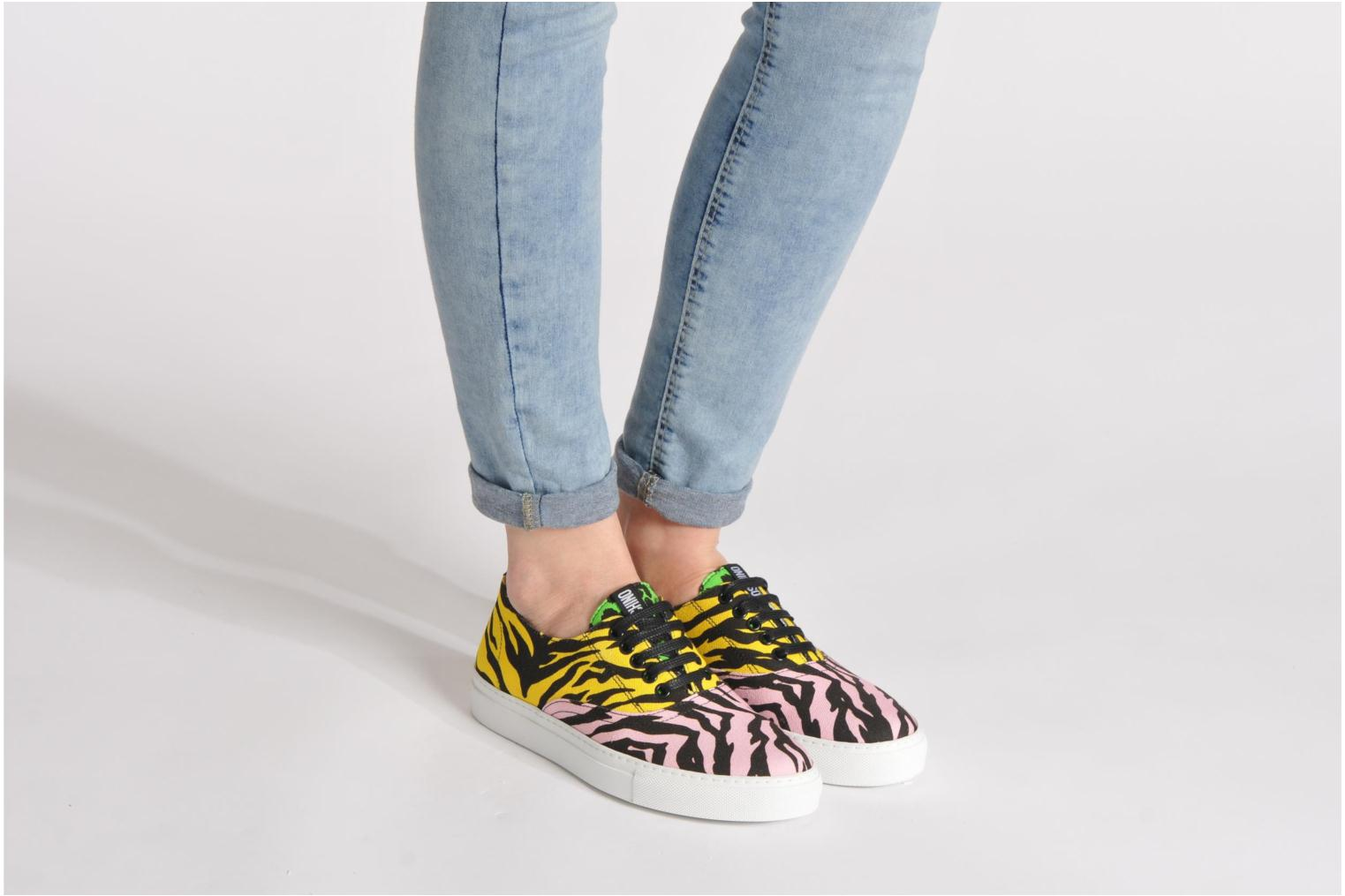 Sneakers Moschino Cheap & Chic Animalier 2 Multicolor onder