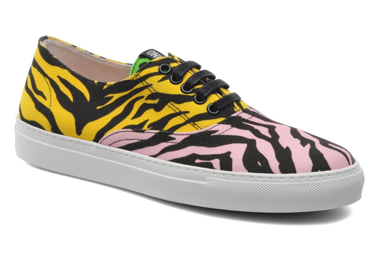 Sneaker Moschino Cheap & Chic Animalier 2 mehrfarbig detaillierte ansicht/modell