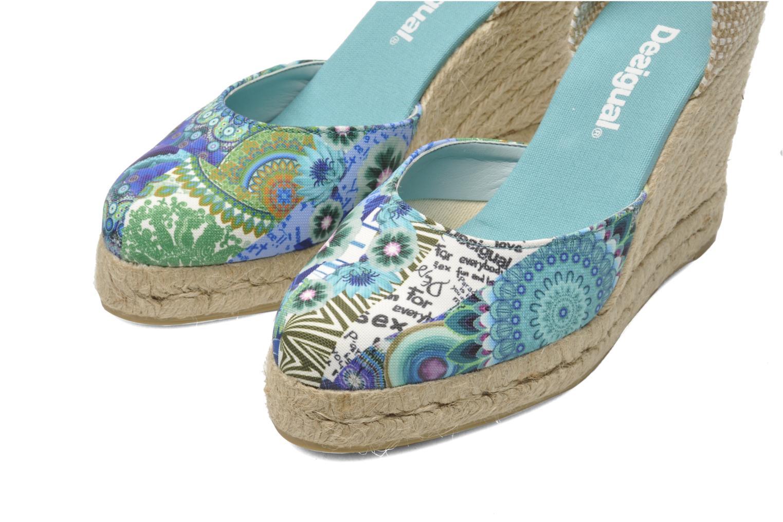 Sandales et nu-pieds Desigual Silla Multicolore vue 3/4