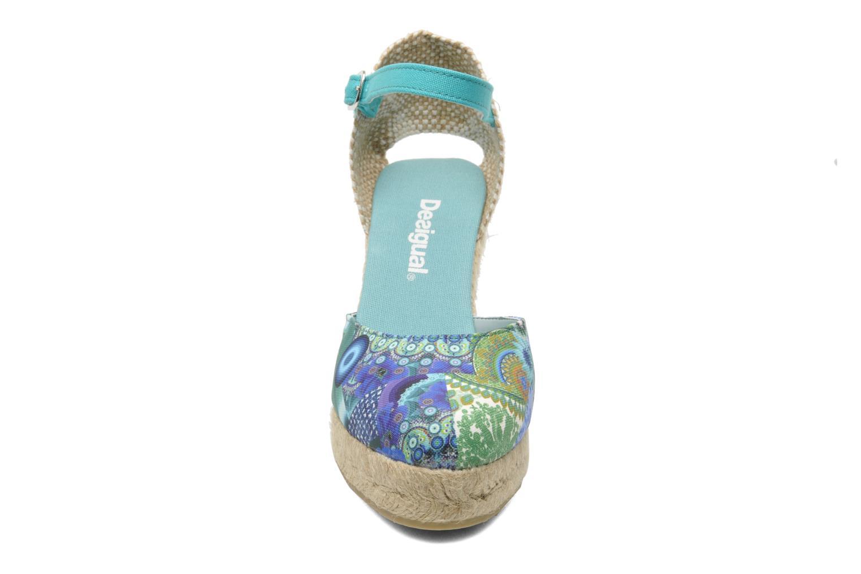 Sandales et nu-pieds Desigual Silla Multicolore vue portées chaussures