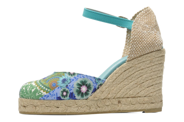 Sandalias Desigual Silla Multicolor vista de frente