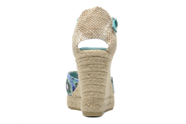 Sandalen Desigual Silla mehrfarbig ansicht von rechts
