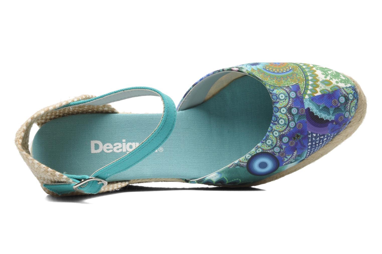 Sandalen Desigual Silla mehrfarbig ansicht von links
