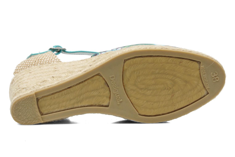 Sandalen Desigual Silla mehrfarbig ansicht von oben