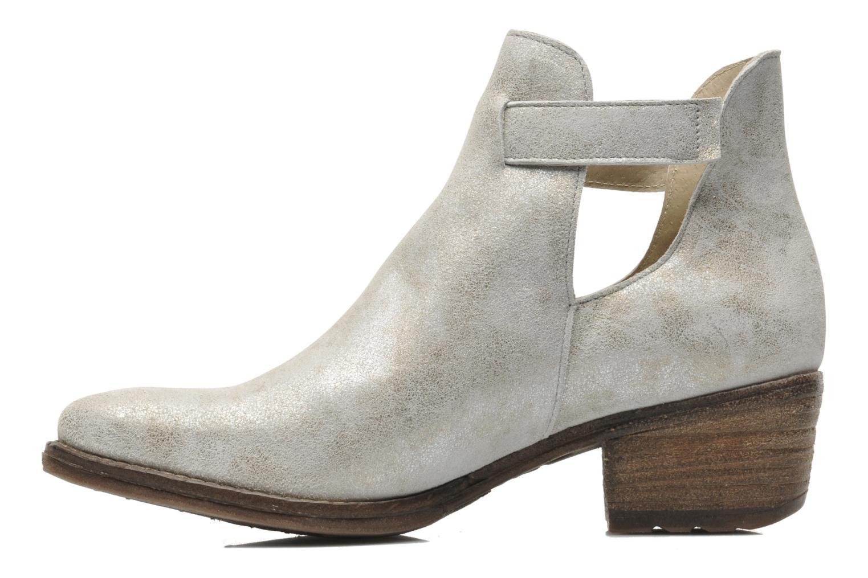 Boots en enkellaarsjes Khrio Petra Zilver voorkant