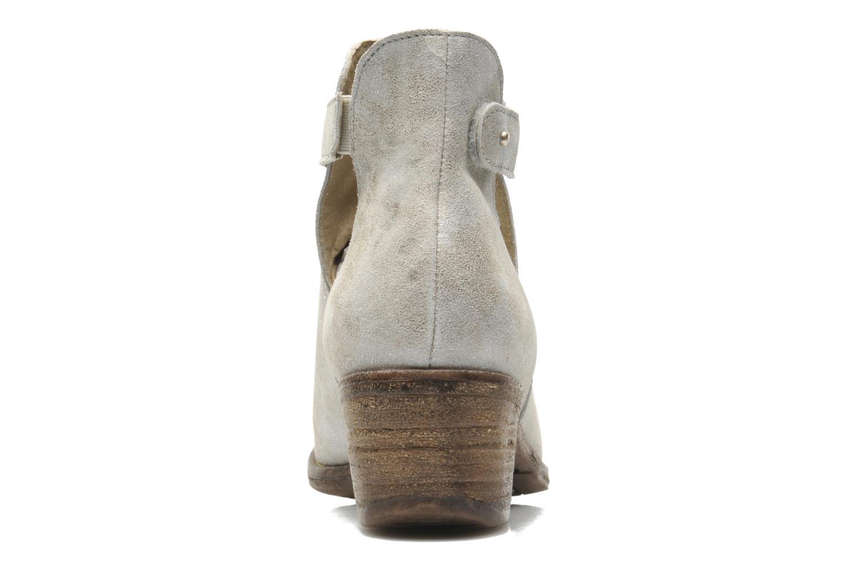 Boots en enkellaarsjes Khrio Petra Zilver rechts