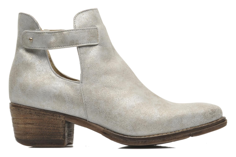 Boots en enkellaarsjes Khrio Petra Zilver achterkant