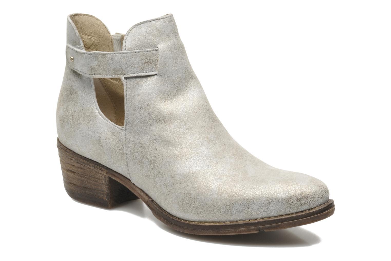 Ankelstøvler Khrio Petra Sølv detaljeret billede af skoene