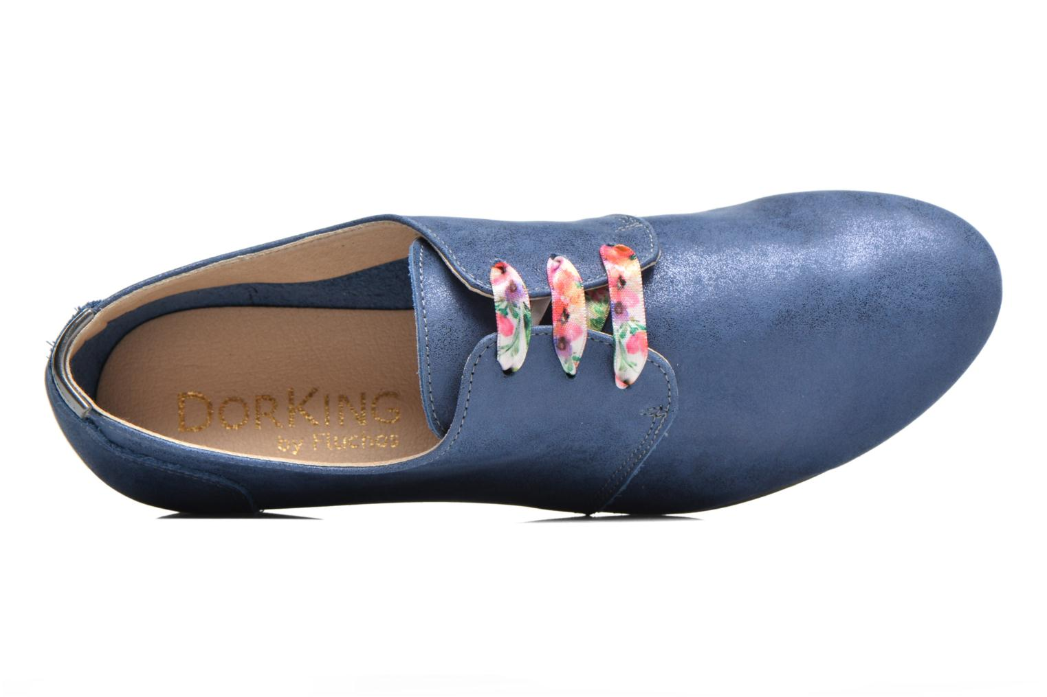 Lace-up shoes Dorking Candy 5058 Blue view from the left
