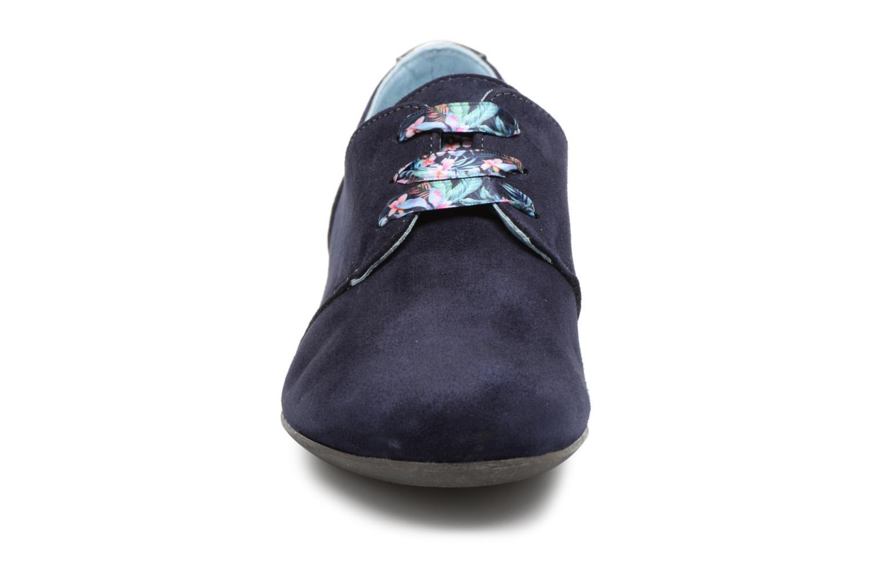 Chaussures à lacets Dorking Candy 5058 Bleu vue portées chaussures