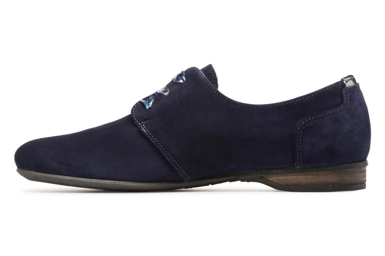 Chaussures à lacets Dorking Candy 5058 Bleu vue face