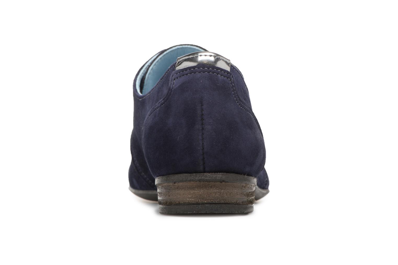 Chaussures à lacets Dorking Candy 5058 Bleu vue droite