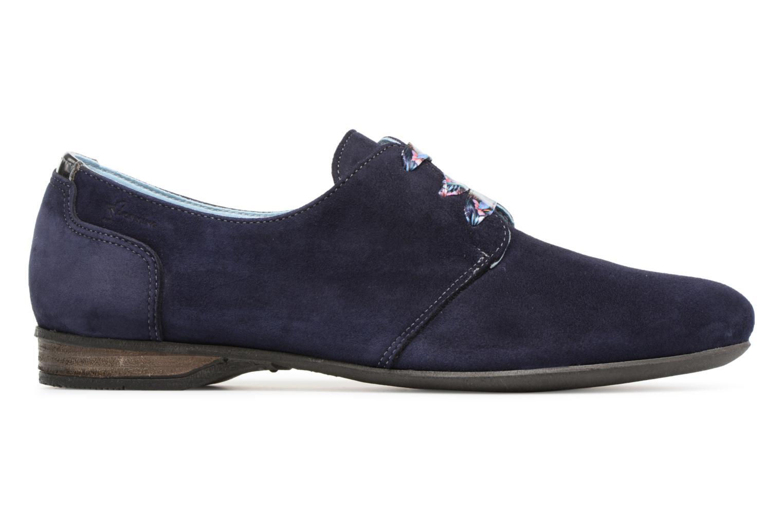 Chaussures à lacets Dorking Candy 5058 Bleu vue derrière