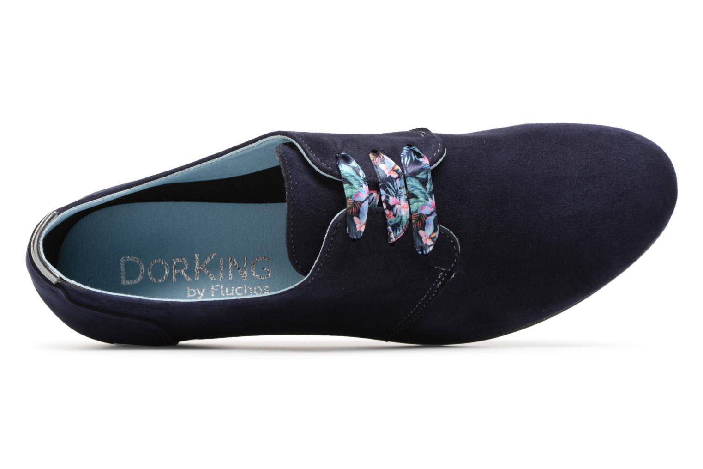 Chaussures à lacets Dorking Candy 5058 Bleu vue gauche