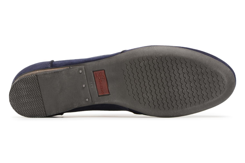 Chaussures à lacets Dorking Candy 5058 Bleu vue haut