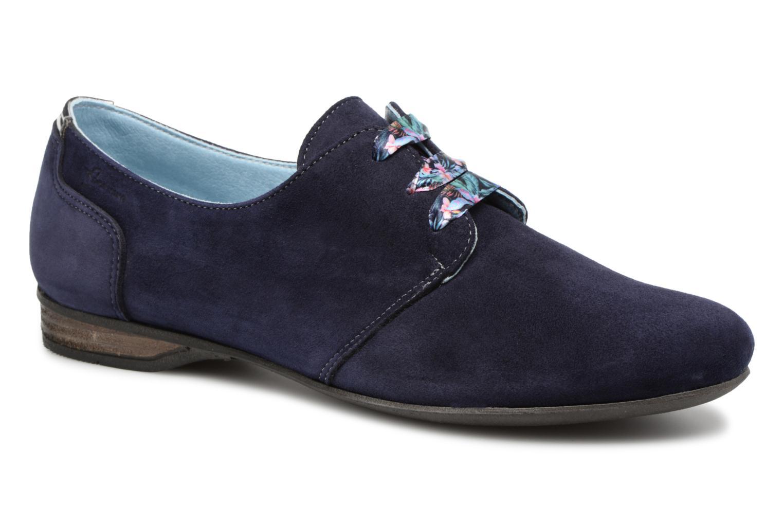 Chaussures à lacets Dorking Candy 5058 Bleu vue détail/paire